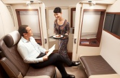 First Class by Singapore Airlines